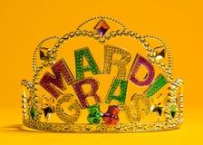 Decoración de la corona de Mardi Gras Imagen de archivo