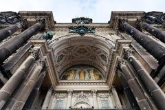 Decoración de la entrada en los Dom del berlinés Fotos de archivo