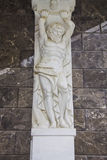 Decoración de la escultura del hombre del yeso Fotografía de archivo libre de regalías