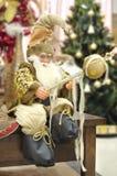 Decoración de la estatua de Santa Claus Fotos de archivo