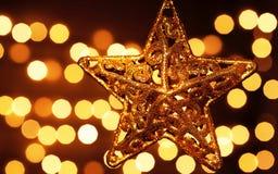 Decoración de la estrella Fotos de archivo libres de regalías