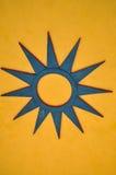 Decoración de la estrella Fotografía de archivo