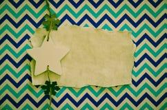 Decoración de la estrella de la Feliz Navidad Imágenes de archivo libres de regalías