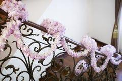 Decoración de la flor Fotos de archivo