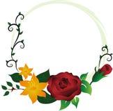 Decoración de la flor de la ilustración Fotos de archivo libres de regalías