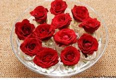 Decoración de la flor de Rose Fotografía de archivo libre de regalías