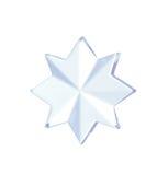 Decoración de la forma de la estrella Imagen de archivo libre de regalías