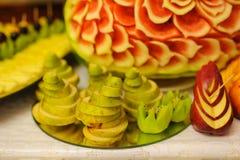 Decoración de la fruta Fotos de archivo libres de regalías