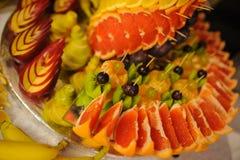 Decoración de la fruta Fotografía de archivo libre de regalías