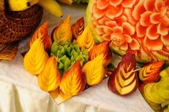 Decoración de la fruta Fotografía de archivo