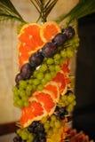 Decoración de la fruta Fotos de archivo