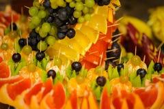 Decoración de la fruta Imágenes de archivo libres de regalías