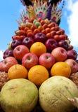 Decoración de la fruta en Bali Imagenes de archivo