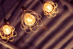 Decoración de la iluminación Fotos de archivo libres de regalías