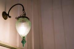 Decoración de la iluminación del vintage (efecto procesado imagen filtrado del vintage Fotografía de archivo