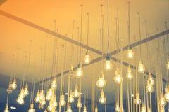 Decoración de la iluminación del vintage (efecto procesado imagen filtrado del vintage Fotografía de archivo libre de regalías