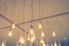 Decoración de la iluminación del vintage (efecto procesado imagen filtrado del vintage Imagen de archivo libre de regalías