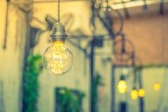 Decoración de la iluminación del vintage (efecto procesado imagen filtrado del vintage Foto de archivo libre de regalías