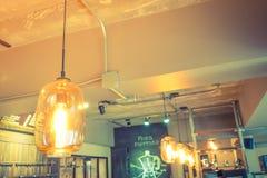 Decoración de la iluminación del vintage (efecto procesado imagen filtrado del vintage Imágenes de archivo libres de regalías