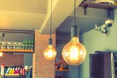 Decoración de la iluminación del vintage (Effe procesado imagen filtrado del vintage Imagenes de archivo