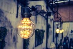 Decoración de la iluminación del vintage (Effe procesado imagen filtrado del vintage Fotografía de archivo