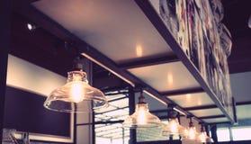 Decoración de la iluminación del vintage (Effe procesado imagen filtrado del vintage Fotos de archivo