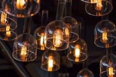 Decoración de la iluminación interior foto de archivo libre de regalías