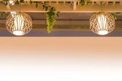 Decoración de la lámpara Imágenes de archivo libres de regalías