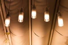 Decoración de la lámpara Imagen de archivo libre de regalías