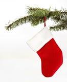 Decoración de la media de la Navidad fotos de archivo