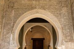 Decoración de la mezquita Imagenes de archivo