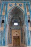 Decoración de la mezquita histórica de Natanz en Natanz, Irán foto de archivo libre de regalías