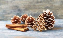 Decoración de la Navidad Árbol de navidad Tiempo de la Navidad imágenes de archivo libres de regalías