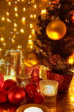 Decoración de la Navidad. Fotografía de archivo
