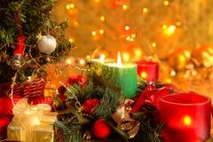 Decoración de la Navidad. Fotos de archivo libres de regalías