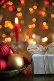 Decoración de la Navidad. Foto de archivo