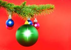 Decoración de la Navidad Fotos de archivo libres de regalías
