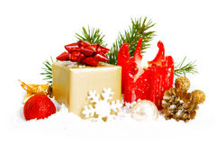 Decoración de la Navidad. Imagen de archivo