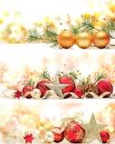 Decoración de la Navidad Imagen de archivo