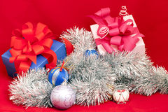 Decoración de la Navidad imagen de archivo libre de regalías