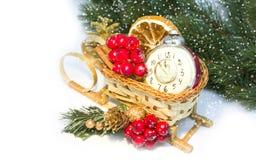 Decoración 2015 de la Navidad Imagenes de archivo