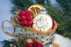 Decoración 2015 de la Navidad Fotos de archivo libres de regalías
