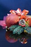 Decoración 2015 de la Navidad Fotos de archivo