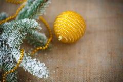 Decoración #2 de la Navidad Imagen de archivo