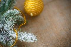 Decoración #2 de la Navidad Fotos de archivo