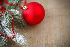 Decoración #2 de la Navidad Fotografía de archivo
