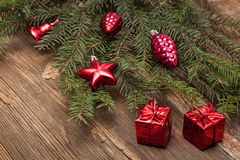 Decoración de la Navidad Foto de archivo