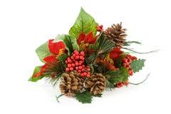 Decoración de la Navidad Imágenes de archivo libres de regalías