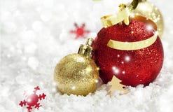 Decoración de la Navidad Año Nuevo Fotos de archivo