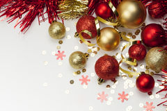 Decoración de la Navidad Año Nuevo Foto de archivo